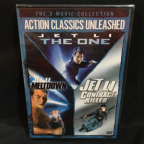 BLU-RAY TITLE:  Jet Li The One / Meltdown / Contract Killer <br>ACTORS: Jet Li