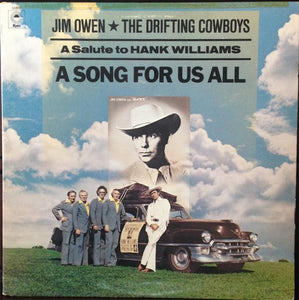 Artist: Jim Owen & Drifting Cowboys<br>Album: A Song For Us All