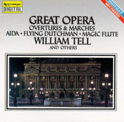 ARTIST:  Alfred Gerhardt<br>CD  TITLE:  Great Opera Overtures - Mediaworks Records