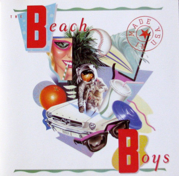 ARTIST:  Beach Boys<br>CD  TITLE:  Made In U.S.A. - Mediaworks Records