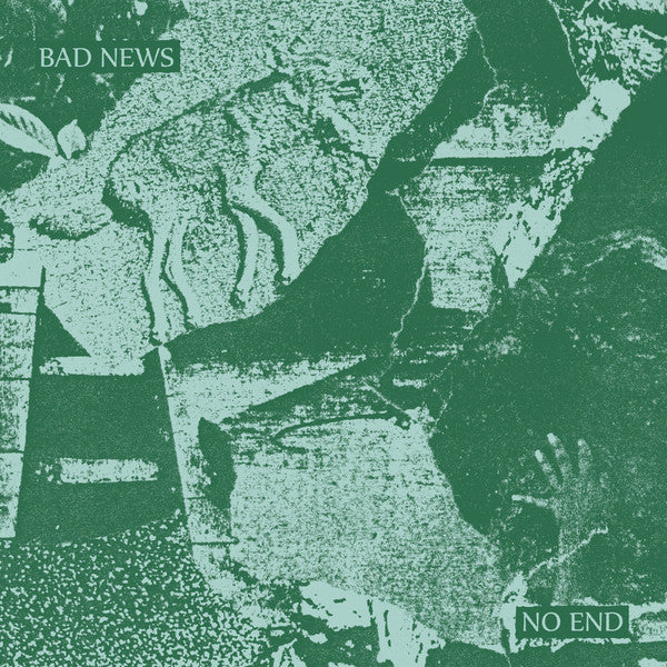 ARTIST:  Bad News<br>VINYL LP TITLE:  No End - Mediaworks Records