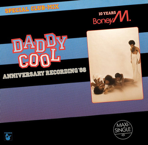 ARTIST:  Boney M.<br>VINYL LP TITLE:  Daddy Cool Anniversary Recording '88