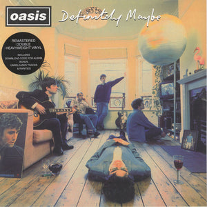 ARTIST:  Oasis<br>VINYL LP TITLE:  Definitely Maybe
