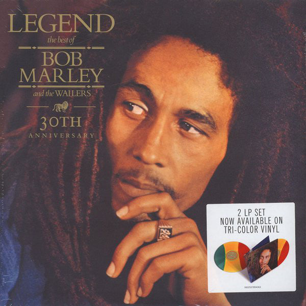 ARTIST:  Bob Marley And The Wailers<br>VINYL LP TITLE:  Legend