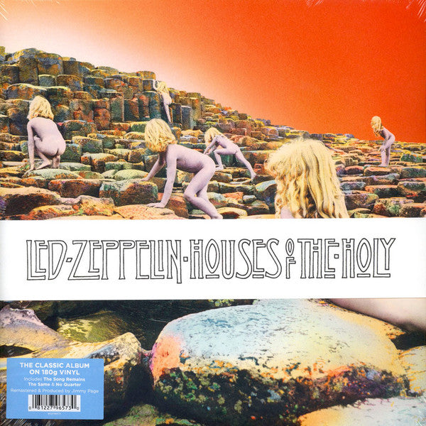 ARTIST:  Led Zeppelin<br>VINYL LP TITLE:  Houses Of The Holy