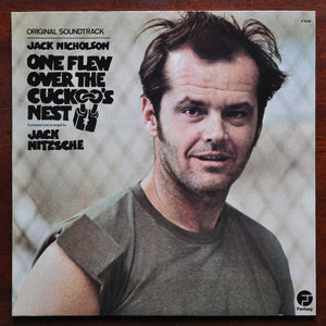 ARTIST:  Jack Nitzsche<br>VINYL LP TITLE:  One Flew Over The Cuckoo's Nest