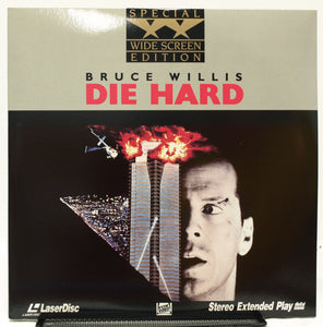 ACTORS: Bruce Willis, Alan Rickman<br>LASER DISC TITLE: Die Hard - Mediaworks Records