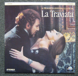 ACTORS: Teresa Stratas, Placido Domingo<br>LASER DISC TITLE: La Traviata - Mediaworks Records