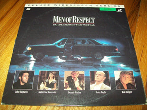ACTORS: John Turturro, Katherine Borowitz<br>LASER DISC TITLE: Men of Respect - Mediaworks Records