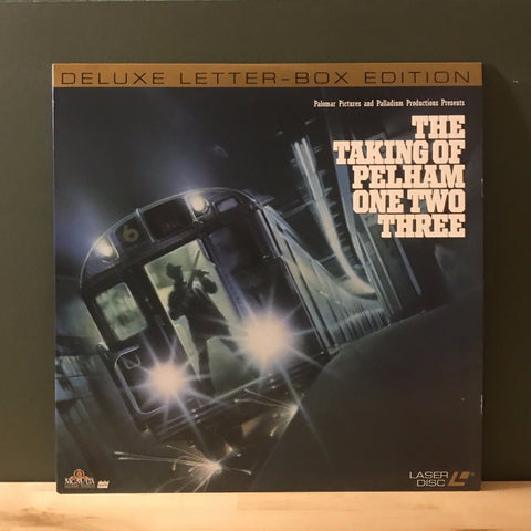 ACTORS: Walter Matthau, Robert Shaw<br>LASER DISC TITLE: The Taking of Pelham One Two Three - Mediaworks Records