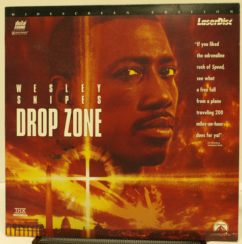 ACTORS: Wesley Snipes, Gary Busey<br>LASER DISC TITLE: Drop Zone - Mediaworks Records