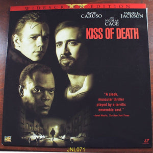 ACTORS: David Caruso, Nicholas Cage<br>LASER DISC TITLE: Kiss of Death - Mediaworks Records