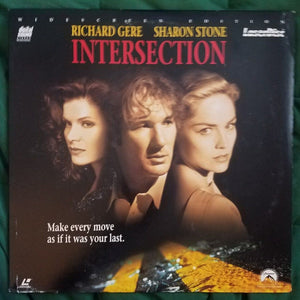 ACTORS: Richard Gere, Sharon Stone<br>LASER DISC TITLE: Intersection - Mediaworks Records