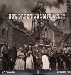 ACTORS: Walter Pidgeon, Maureen O'Hara<br>LASER DISC TITLE: How Green Was My Valley - Mediaworks Records