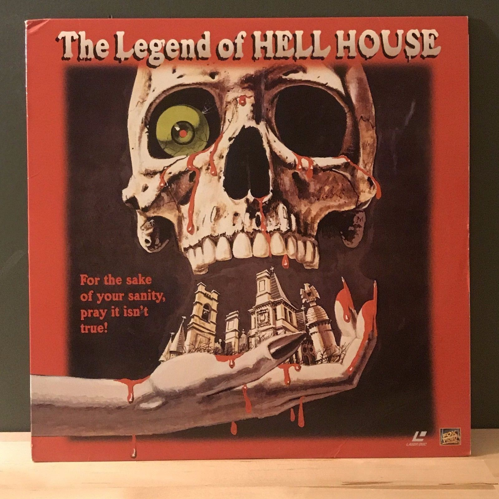 ACTORS: Pamela Franklin, Roddy McDowell<br>LASER DISC TITLE: The Legend of Hell House - Mediaworks Records