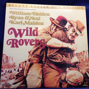 ACTORS: William Holden, Ryan O'Neal<br>LASER DISC TITLE: Wild Rovers - Mediaworks Records