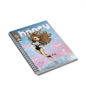 Agent M. (Honey) Spiral Notebook - Ruled Line