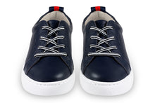 Boys leather navy sneakers - Oscar's for Kids