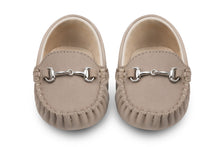 Boys brown suede loafers - Oscar's for Kids