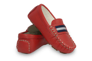Sorento Red Loafers