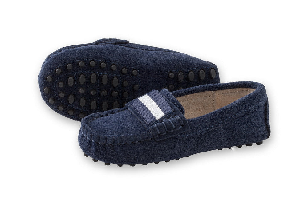 43ed6fff855 Milan Navy Loafers - kid s loafers