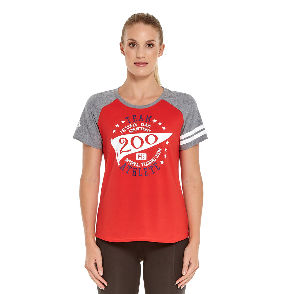 Womens Team 200 Soft Q-Dry Tee