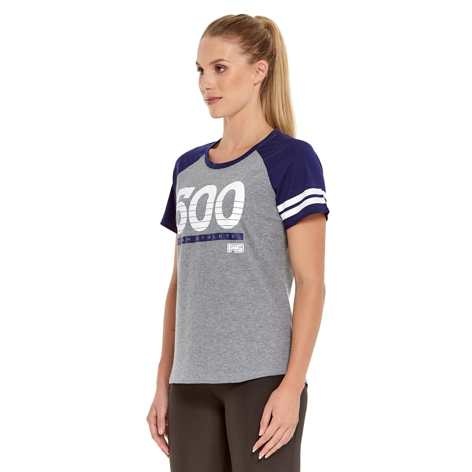Womens Team 500 Soft Q-Dry Tee