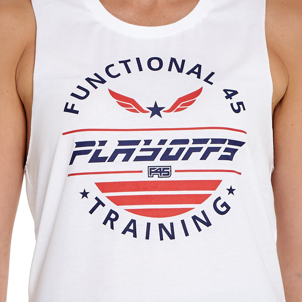 Womens Playoffs Soft Q-Dry Tank