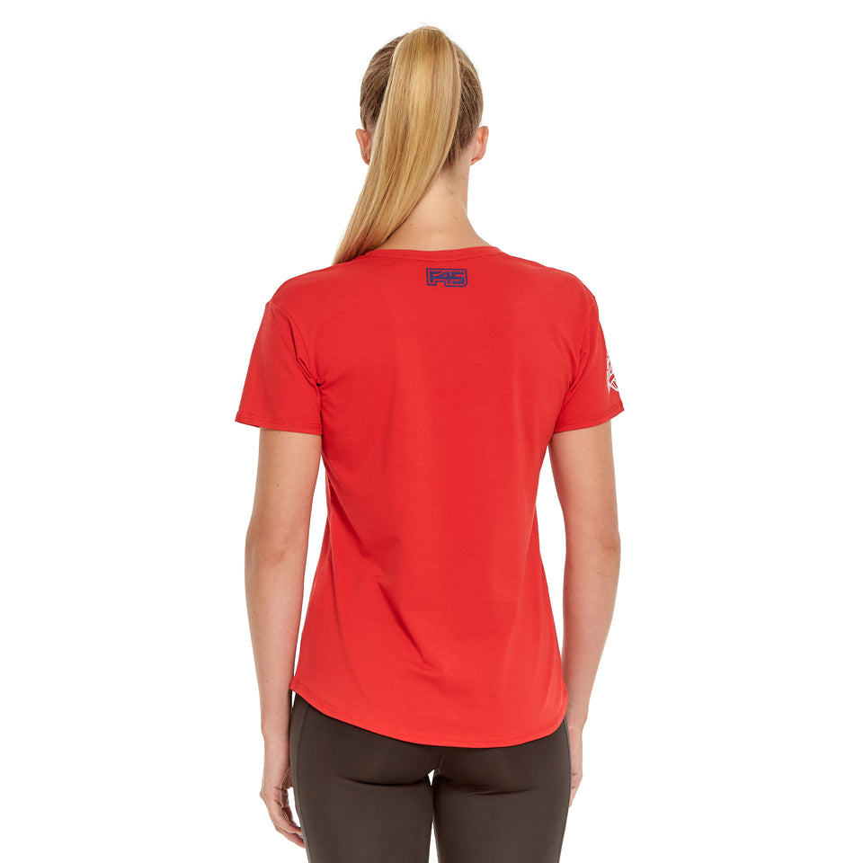 Womens Team 1000 Soft Q-Dry Tee