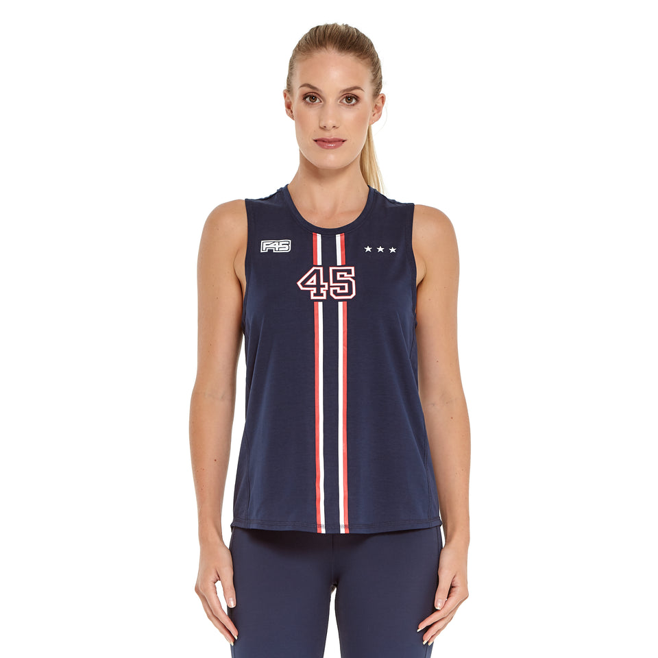 Womens Uniform Soft Q-Dry Tank