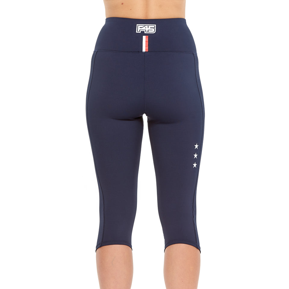 Womens Uniform Crop Tights