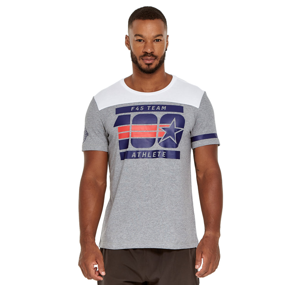 Mens Team 100 Soft Q-Dry Tee