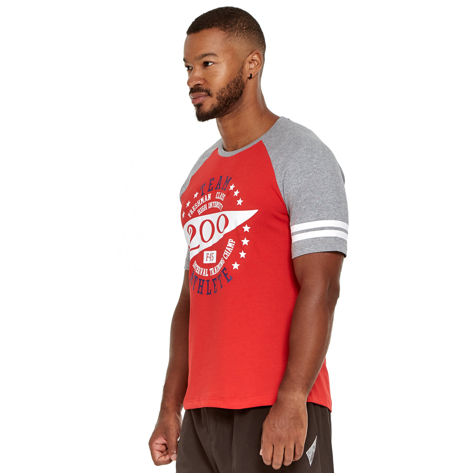 Mens Team 200 Soft Q-Dry Tee