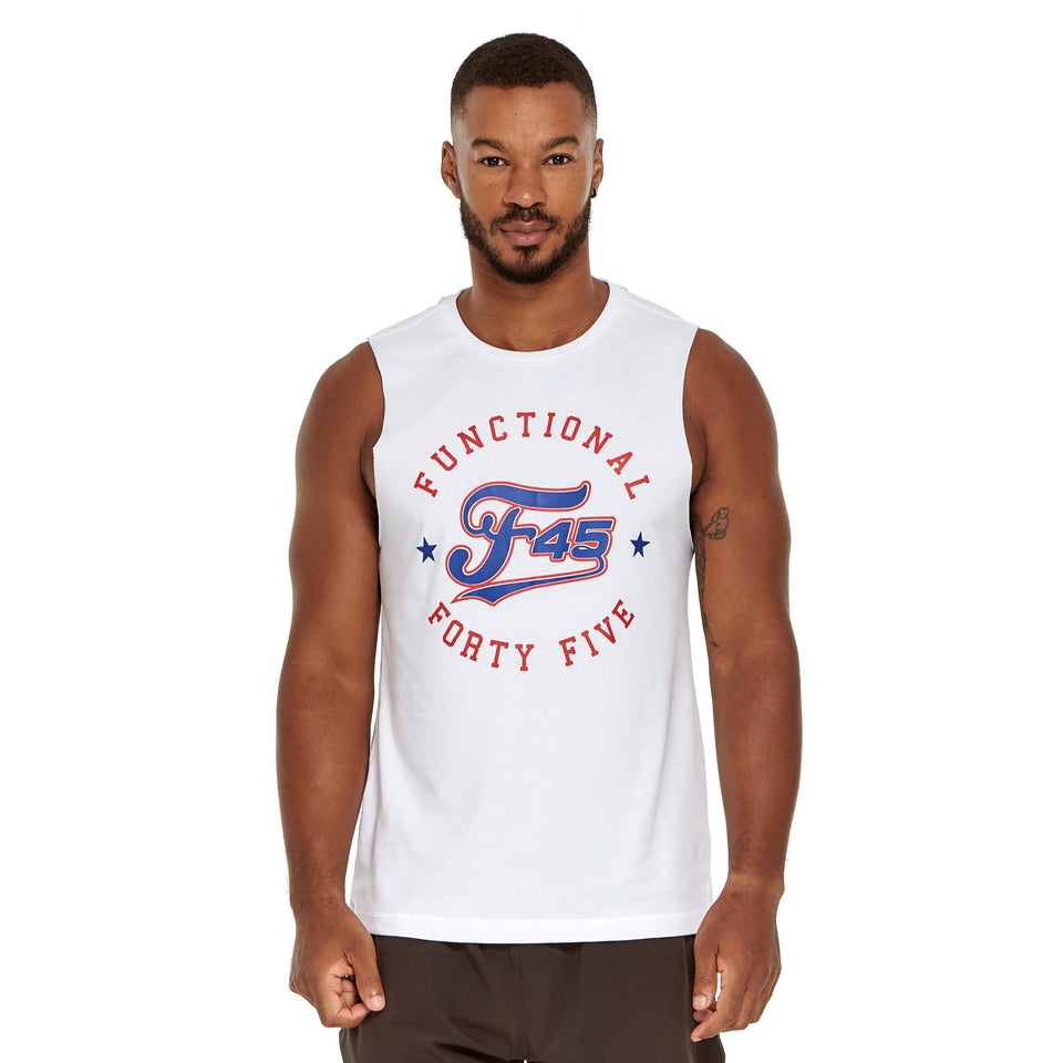 Mens All Star Soft Q-Dry Tank