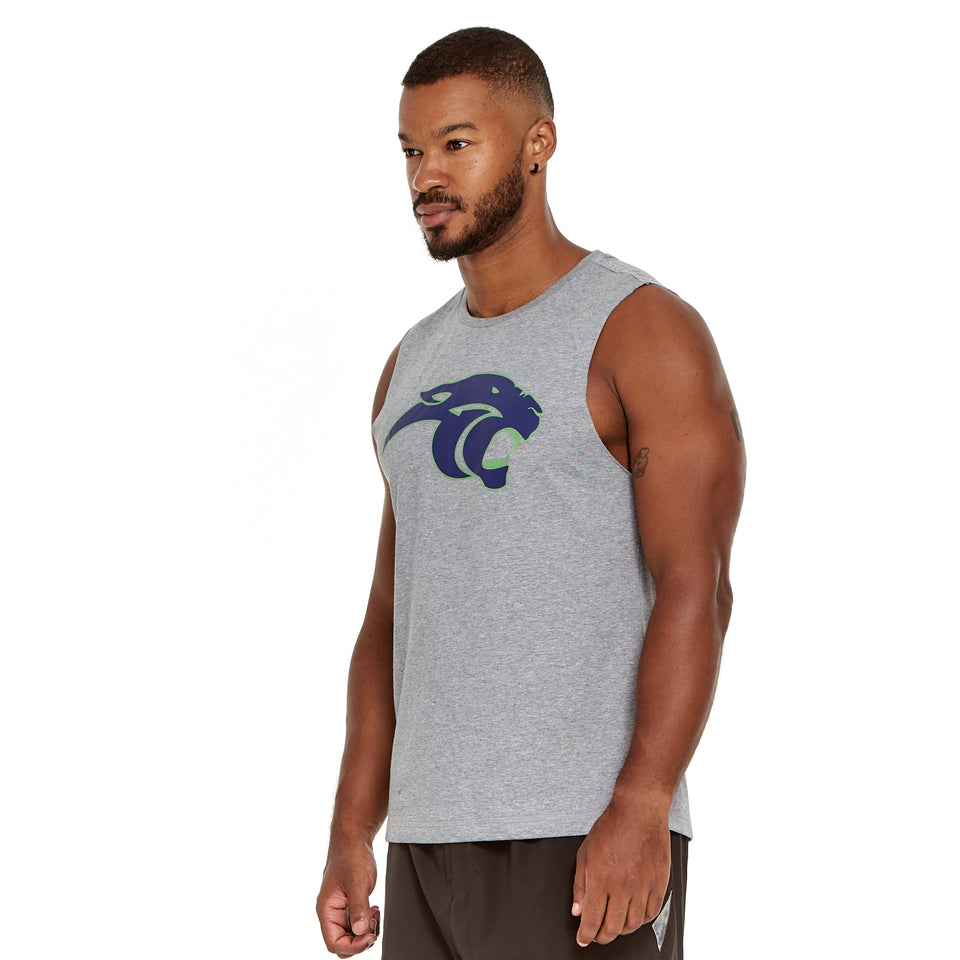 Mens Panthers Soft Q-Dry Tank