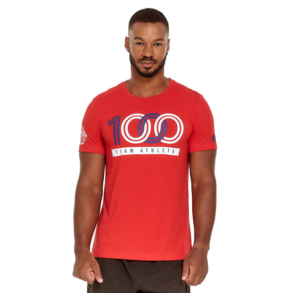 Mens Team 1000 Soft Q-Dry Tee