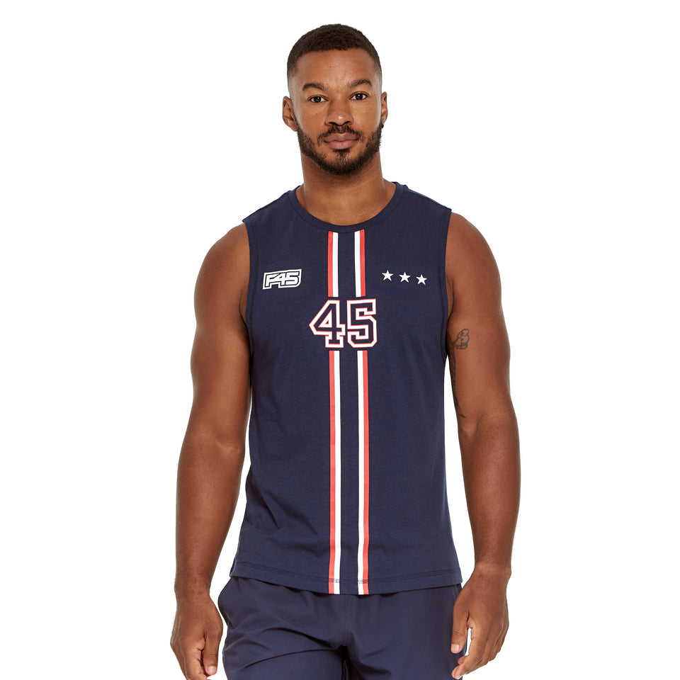 Mens Uniform Soft Q-Dry Tank