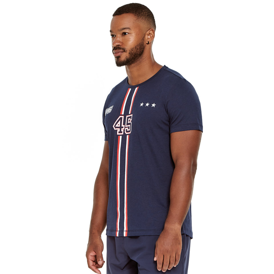 Mens Uniform Soft Q-Dry Tee