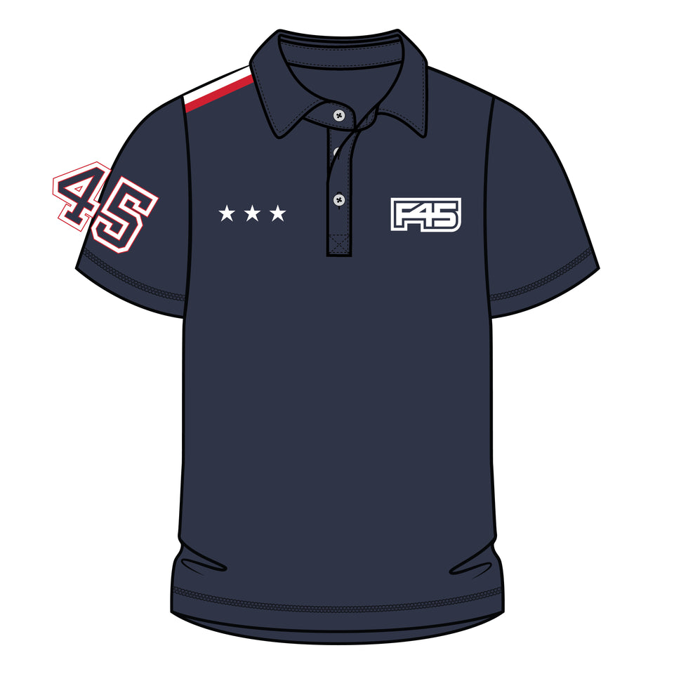 Mens Uniform Cool Q-Dry Polo