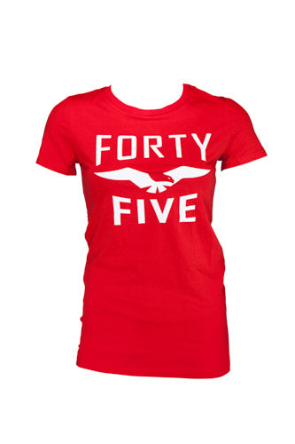 Womens F45 Forty Five Eagle T-Shirt - CLEARANCE