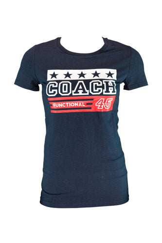 Womens F45 Coach Functional T-Shirt - CLEARANCE