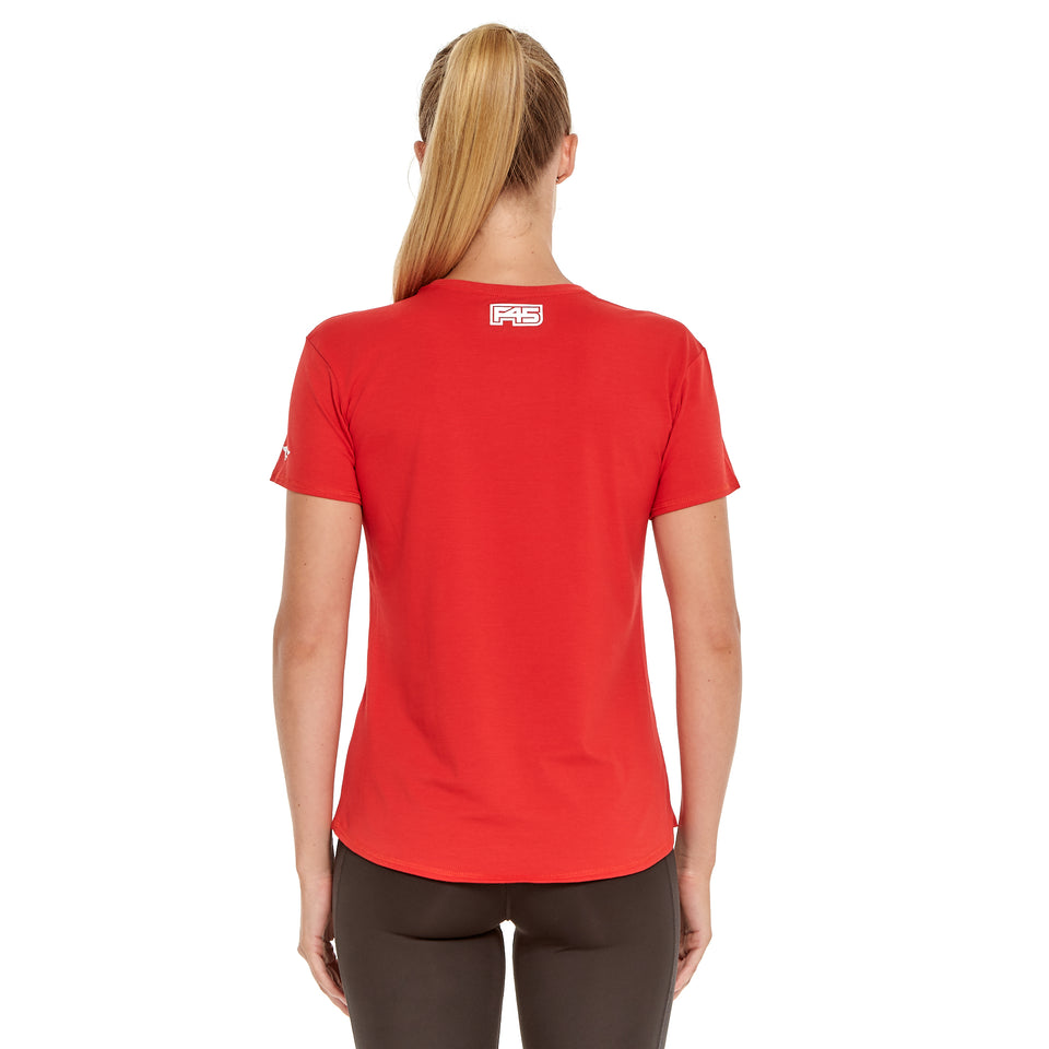 Womens Eagle 45 Soft Q-Dry Tee