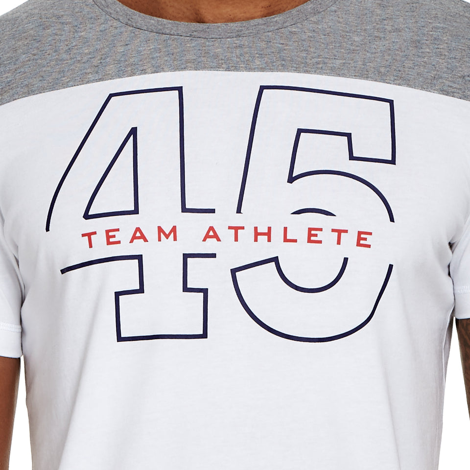 Mens Team 45 Soft Q-Dry Tee