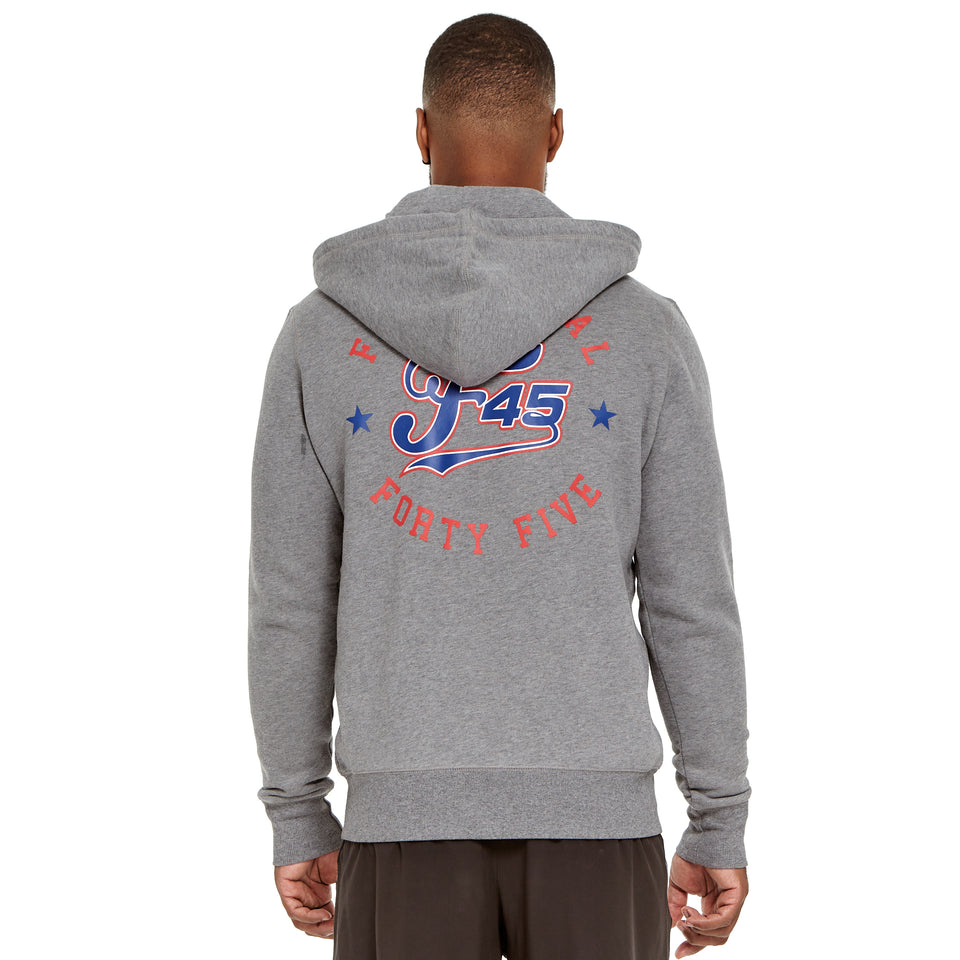 Mens All Star Heavyweight Zip Hoodie