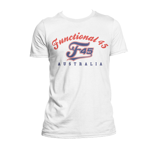 Mens F45 Functional Aus T-Shirt - CLEARANCE