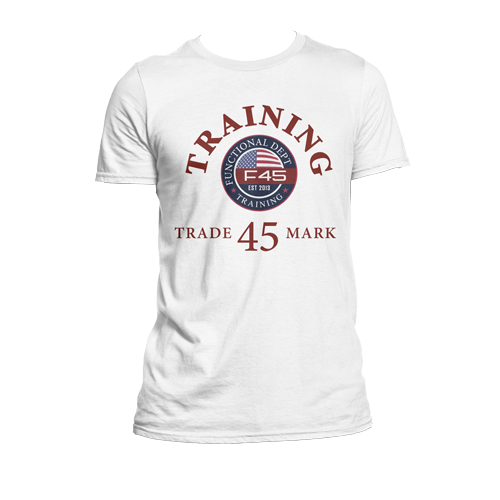 Mens F45 Training Trade Mark T-Shirt - CLEARANCE