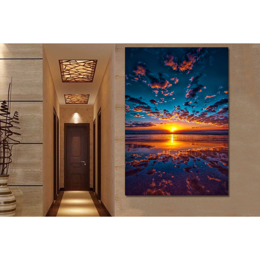 Life Is Beautiful Sunset Canvas