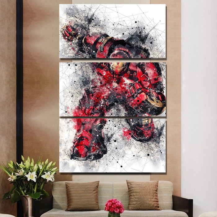 3 PC Hulkbuster Canvas
