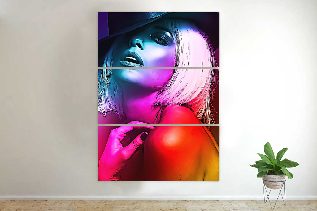 Seductive Blonde I Canvas