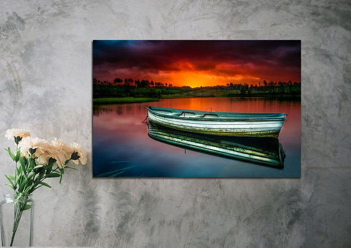 Rustic Boat Canvas